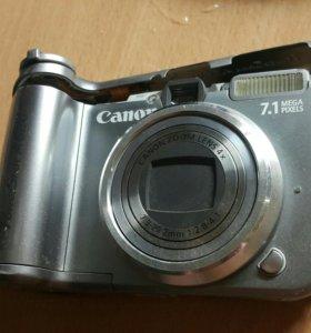 Фотоаппарат на запчасти Canon powershot A620