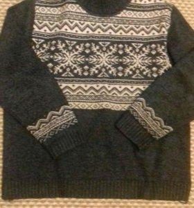 Мужской свитер. Очень тёплый. 50-52р