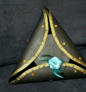 Треуголка для маскарада