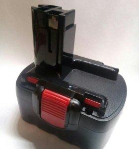 Аккумуляторная батарея Bosch 14,4В 2А/ч Ni-Cd.