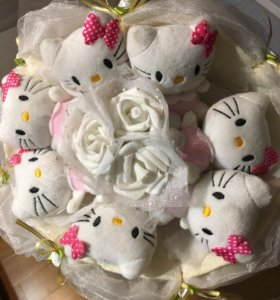 Букет из Hello Kitty