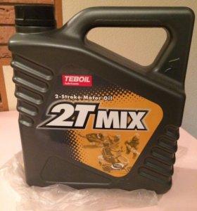 Масло для двухтактных снегоходов Teboil 2T Mix