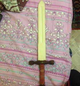 меч и пистолет