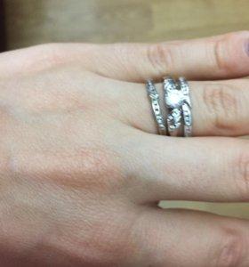 Серебряное кольцо Sunlight