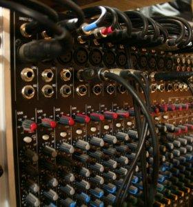 Всё для записи:Soundcraft, M-audio, Digilab
