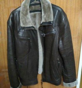Куртка нат.кожа, нат.мех
