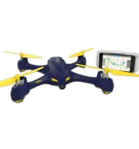 Квадрокоптер Hubsan X4 Star Pro GPS wifi камера