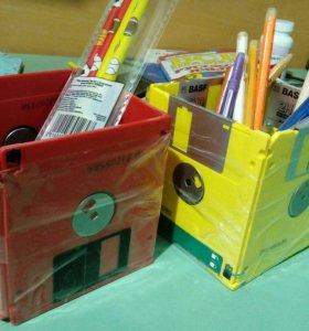 Коробочки для ручек и мелочовки