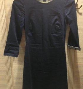 Платье деним Zara