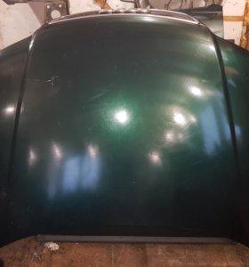 Капот ауди а6 с5 зеленый дорестайлинг
