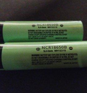 Аккумуляторы Panasonic NRC18650B 3400mAh