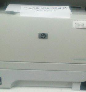 Принетр HP LaserJet P2055dn б/у