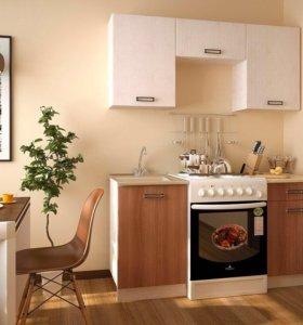 Кухня 1.6 м фасады лдсп качество высокое
