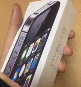 Айфон 4 S, 16 gb Новый Запечатанный