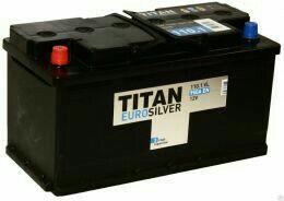 """АКБ 110 """"TITAN-EUROSILVER"""" ПР/П 950(EN) 352X175X19"""