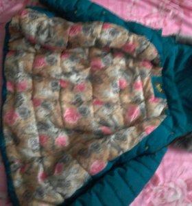 Курточка зимняя 54 размер