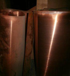 медь для чеканки лист0,5 стандартный