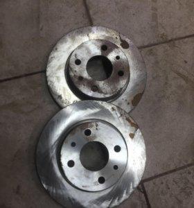 Тормозные диски на ваз 2108-2115 новые