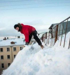 Очистим крышу от снега, наледи, сосулек