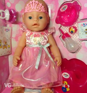 Кукла Беби Борн принцесса (аналог)
