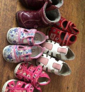 Обувь для девочки 21-23 р
