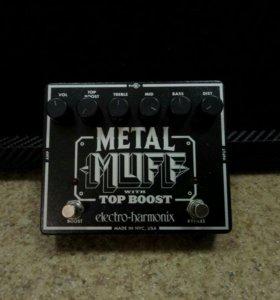 Педаль для эл/гитары Electro Harmonix Metal Muff