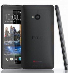 Новый HTC One M7 32Gb Black Черный