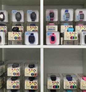 Детские часы с GPS в магазине на Тополинке