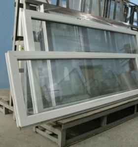 Окна с двухкамерным стеклопакетом