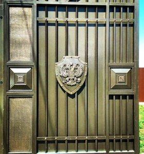 Заборные секции, ограждения и ворота