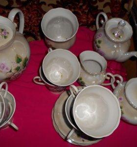 Чайно кофейный сервиз на 6 персон