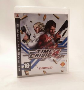 Игры для Sony ps3 Time Crisis4
