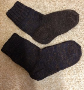Мужские носки 100% шерсть новые