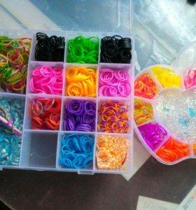 Резиночки для плетения браслетов, фигур