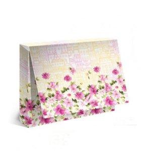 """Подарочная упаковка для одежды """"Цветы"""""""