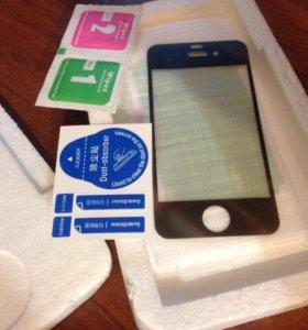 Защитное стекло на iPhone 4s