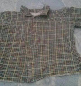 Рубашка теплая 4 г