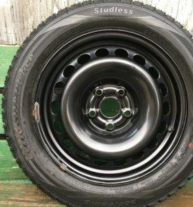 Комплект новых зимних колес на Skoda, Audi, VW.