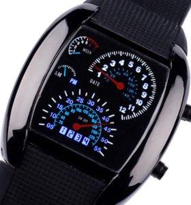 Электронные часы спидометр