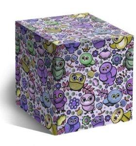 "Подарочная коробка для кружки ""Совушки"""