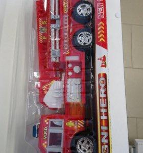 Пожарная 🚒 машина