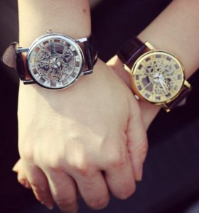 Недорогие часы скелетоны Decort