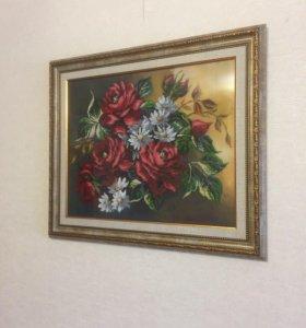 Картины, вышитые бисером