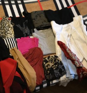 Большой пакет женской одежды(16 предметов)