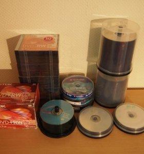 Чистые CD, DVD и Blu-ray диски
