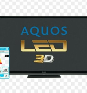 Телевизор 3D SHARP 70