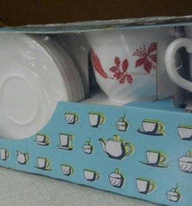 Новый!Чайный сервиз.Фирмы Luminarc
