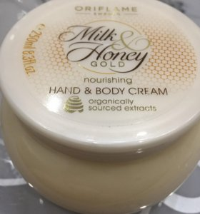 Крем для тела и рук Мёд и молоко