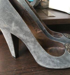 Туфли замшевые 36 размер