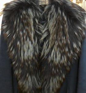 Зимнее шерстяное пальто (р.42-44)
